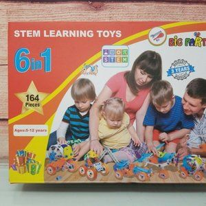 Big Party Toys Stem Learning Toy 164pcs